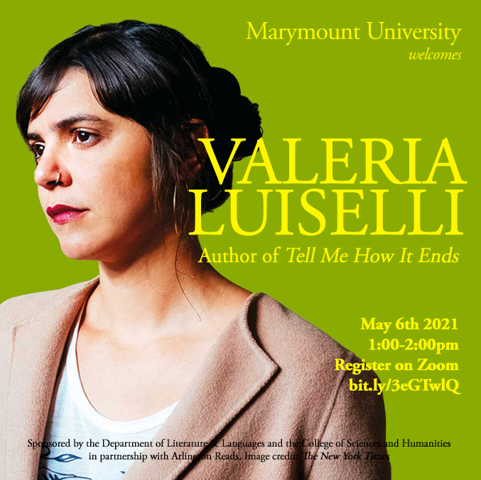 Promotional Material for Luiselli Visit